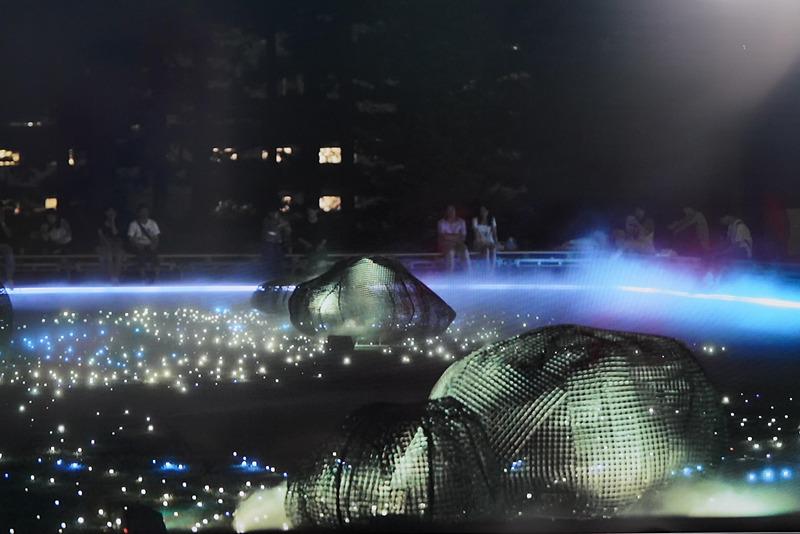夏に開催された東京ミッドタウン「芝生広場」で、WOWとHAKUTENと共同で開催していたデジタル庭園