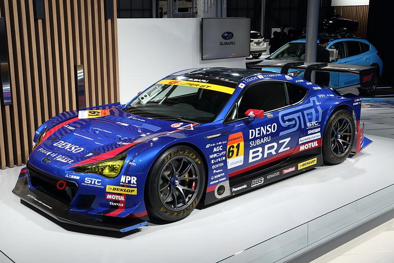 今シーズンのスーパーGTを戦うSUBARU BRZ GT300 2019