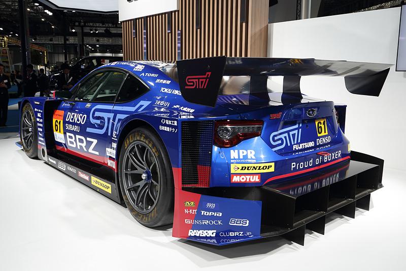 """一般公開日にはスバルBRZ GT GALZ""""BREEZE""""も来場する(SUPER GT 最終戦がツインリンクもてぎで開催される11月2日~3日は除く)"""