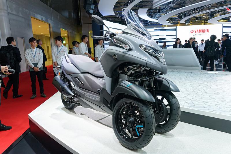 欧州で特に人気というTRICITYシリーズに300ccモデルが加わる
