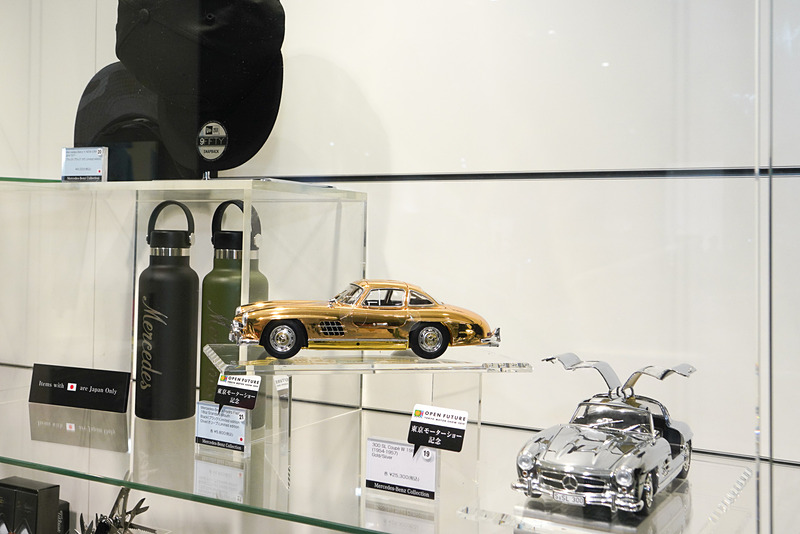 東京モーターショー記念の300 SL クーペ Wのミニカー