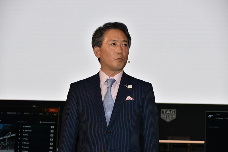 FUTURE EXPOのカンファレンスで登壇した、オリンピック・パラリンピック等経済界協議会 座長の日本電信電話株式会社 常務取締役 栗山浩樹氏