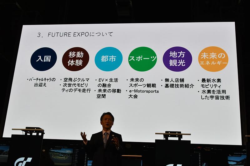 FUTUR EXPOは、いわばカウントダウンショーケースの東京モーターショー 2019コラボ展示会という位置付けだった