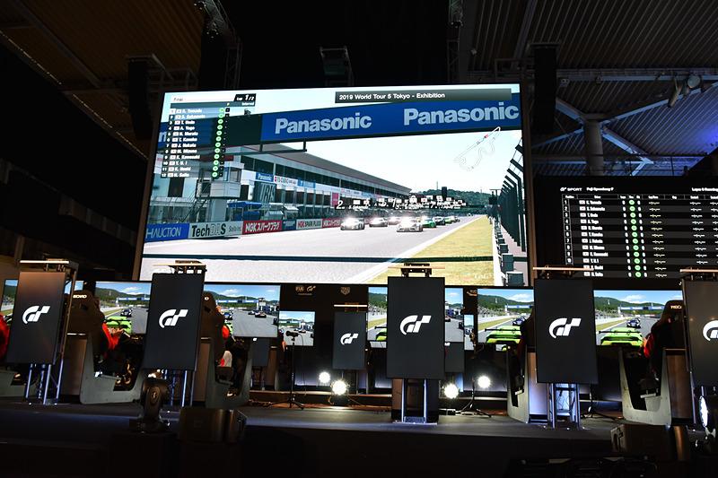 FUTURE EXPOプレスカンファレンスの最後はグランツーリスモ・スポーツのエキシビションレースで締めくくられた
