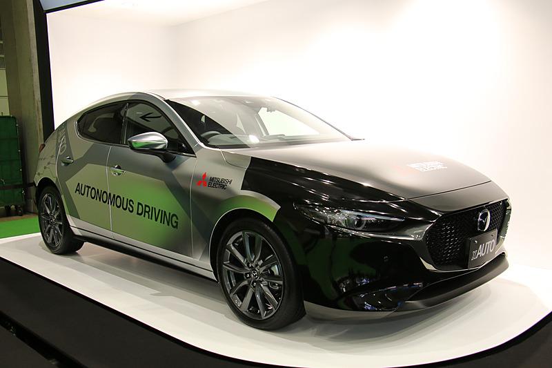 三菱電機の自動運転実証実験車「xAUTO(エックスオート)」