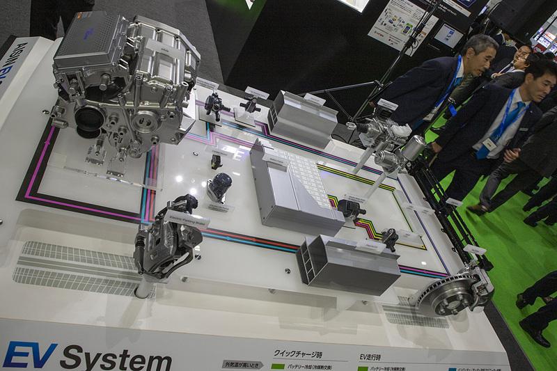 EVシステムの展示
