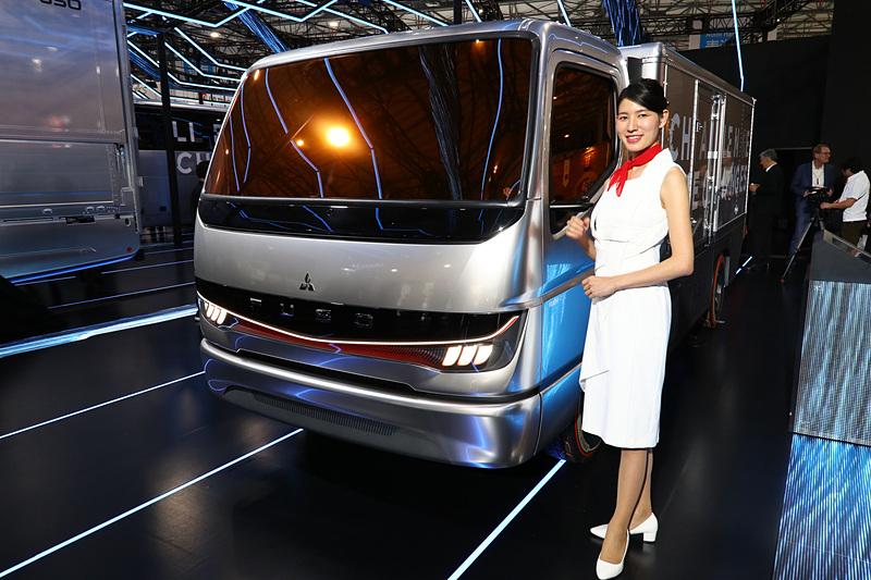 燃料電池小型トラックコンセプトモデル「Vision F-CELL」