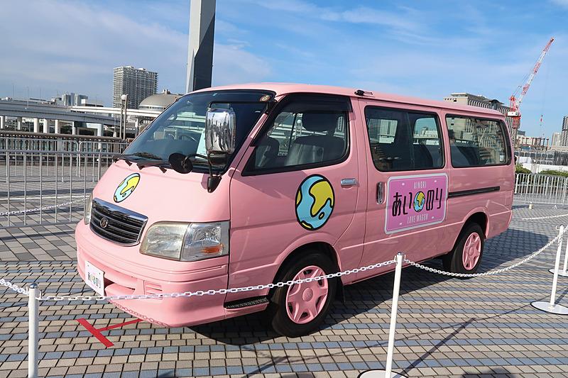 OPEN ROADの展示車両