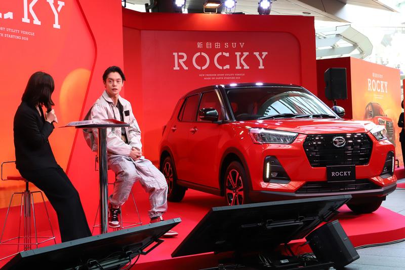 ロッキーのCM撮影などについて話した窪田さん