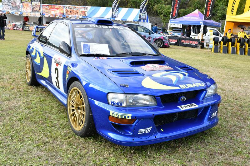 会場にはWRX STI EJ20 Final Edition、ニュルブルクリンク 24時間クラス優勝車(2019)、WRC チャンピオン獲得車(1998、以下WRC 98)などが飾られた。WRX STI EJ20 Final Edition、ニュルブルクリンク 24時間クラス優勝車は東京モーターショーからの移動になる