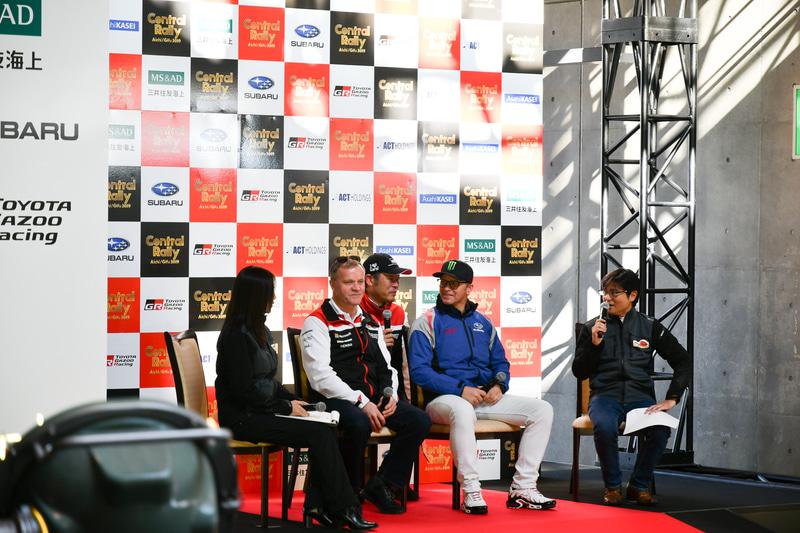 トークショーも実施。2人の世界ラリーチャンピオンが日本に訪れた2日間となった