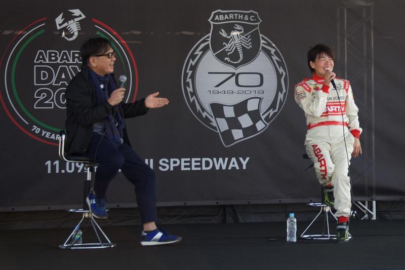 フォトグラファーKEI OGATA氏×プロ・ドリフトドライバー石川紗織氏のトークショー