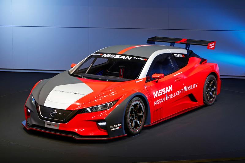 EV(電気自動車)レーシングカー「NISSAN LEAF NISMO RC」