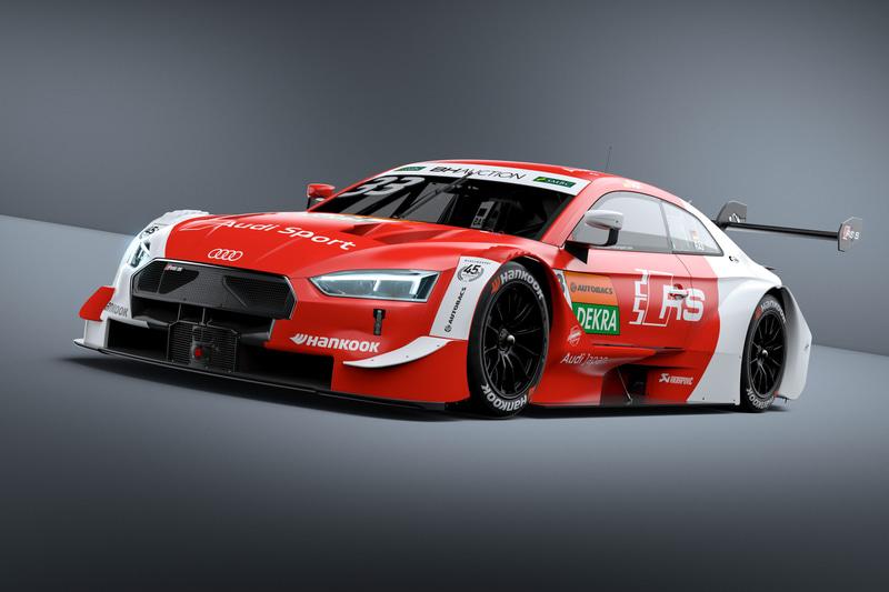 2019年DTMチャンピオンのレネ・ラスト選手が、日本で開催されるレースを記念して日本国旗を模したカラーリングを施した「Audi Sport RS 5 DTM」で参戦