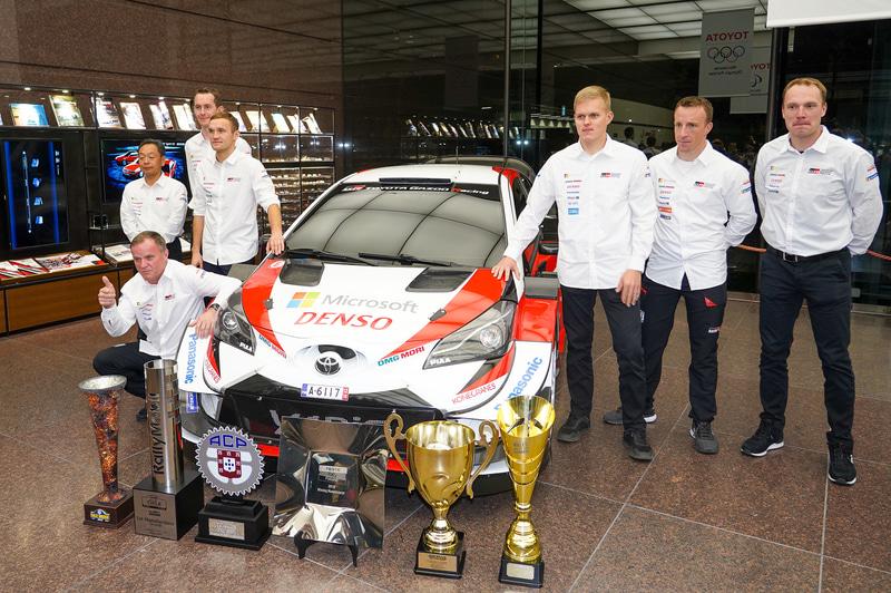 TOYOTA Gazoo Racing WRTチーム