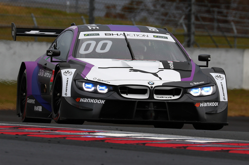 BMW勢最上位は、小林可夢偉選手の00号車 BMW M4 DTM