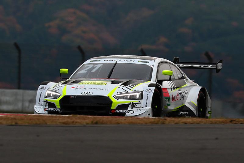 終盤のリスタートでジャンプアップに成功し、DTM勢最上位の6位となったブノワ・トレルイエ選手(21号車 Audi Sports Japan RS5 DTM)