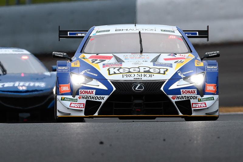SUPER GT×DTM 特別交流戦の初戦に勝利した37号車 KeePer TOM'S LC500のニック・キャシディ選手