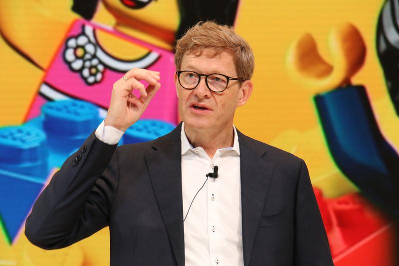 LEGO Group CEO ニールス・ビー・クリスチャンセン氏