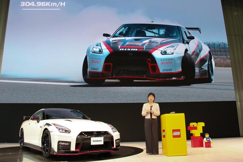 GT-Rによるドリフト走行の世界記録更新がコラボレーションのきっかけになったと星野氏は紹介