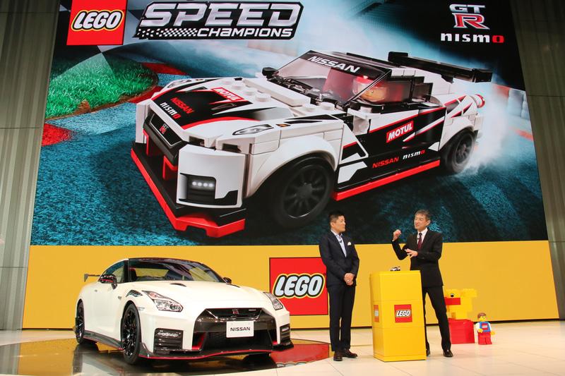 発表会後半には、レゴと日産の担当者2人によるトークセッションも行なわれた
