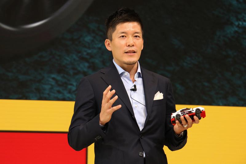 LEGO APAC Region General Manager 長谷川敦氏