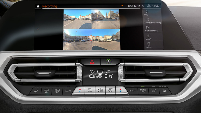 「パーキング・アシスト・プラス」用の前後左右の車外カメラをドライブレコーダーとして利用できる新機能を発表