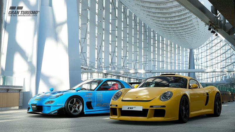 名門チューナーが手がけるハイパフォーマンスカーとして日本の「RE雨宮 雨宮μ過給圧上昇7」とドイツの「ルーフ CTR3 '07」が登場