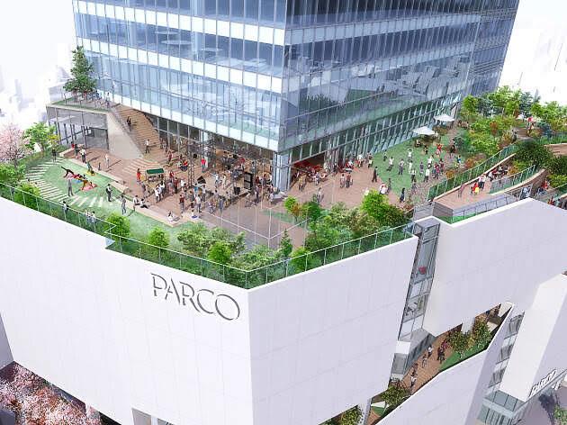 渋谷パルコの会場イメージ