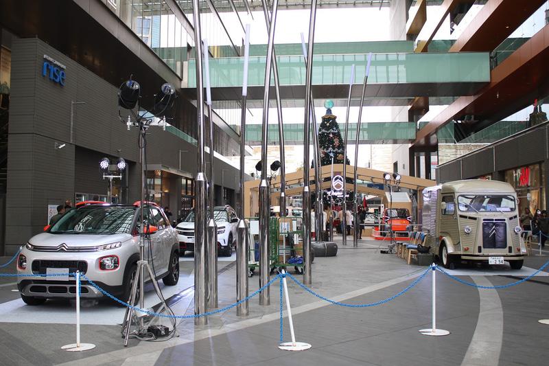 「コンフォート・ラ・メゾン・シトロエン」の会場は二子玉川ライズ・シッピングセンター ガレリア