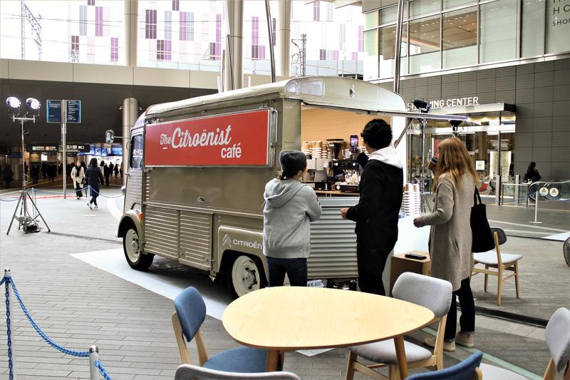清澄白河のライフスタイル・カフェ「iki Espresso Tokyo」とのコラボレーションによる「シトロエニストカフェ」