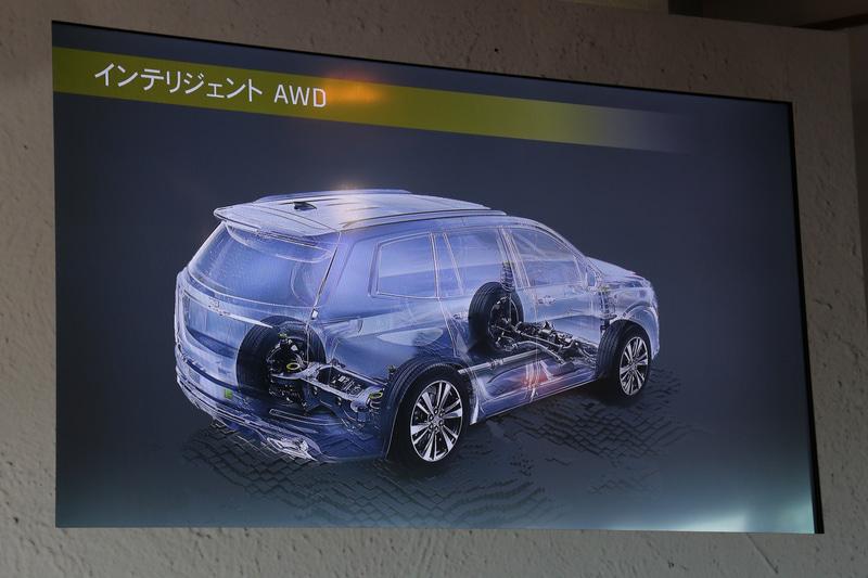 4WDシステムにはインテリジェントAWDを採用
