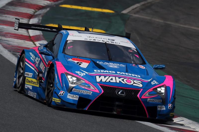 参戦最後のシーズンでSUPER GT GT500クラスのシリーズチャンピオンを獲得した6号車「WAKO'S 4CR LC500」