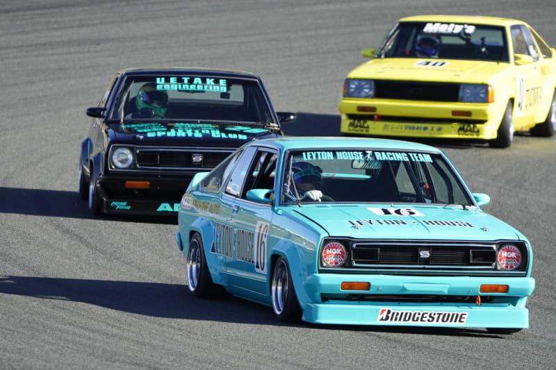NISSAN ヒストリックカー エキシビションレース。1970年代に盛んだったツーリングカーレースの様相が見事に再現された