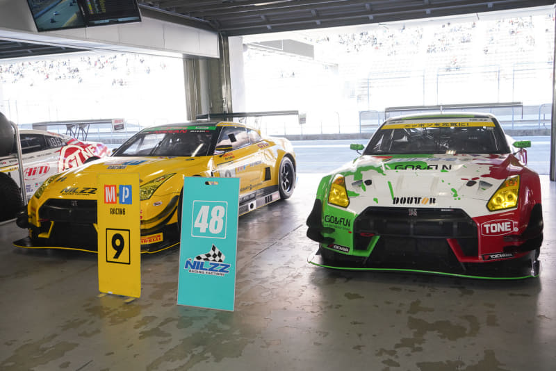 MP Racing GT-R(2018 スーパー耐久)、Shokumou GO&FUN GT-R(2019 SUPER GT)