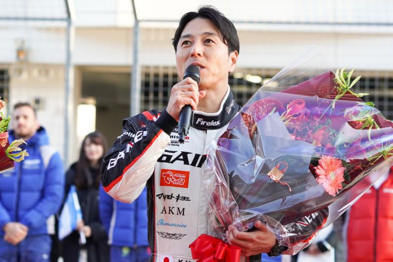 星野一樹選手「苦しいシーズンでしたが、最後まで諦めずまたチャンピオンをとれました」