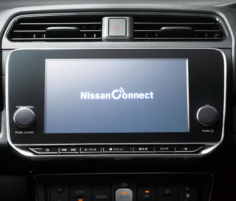 NissanConnectには、アプリを利用して離れた場所からドアの施錠状態の確認や、ドアロックすることが可能な「リモートマイカーチェック/リモートドアロック」、高齢ドライバーや免許を取りたての家族の運転状況(速度・時間・エリア)をスマホアプリで確認できる「ドライブ制限アラート」など、安心機能を多数搭載している。