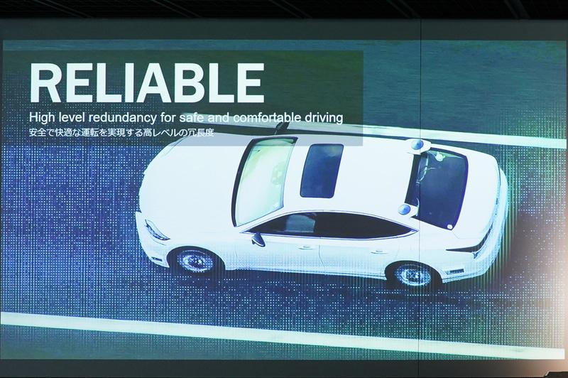 リライアブル(信頼性):電源、ブレーキ、アルゴリズムなども含めて冗長性を確保