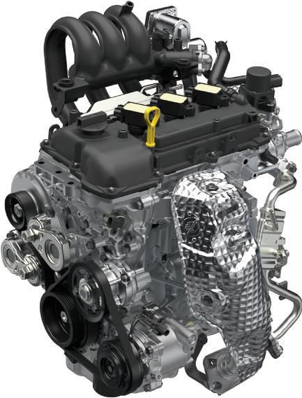 新開発のR06D型エンジン