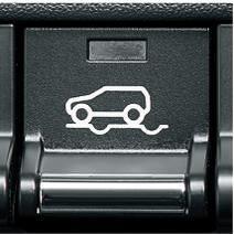 空転する車輪にブレーキを掛けて駆動力の逃げを防ぐ「グリップコントロール」