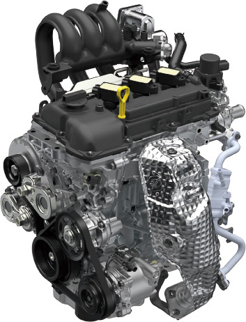 新開発R06D型エンジン