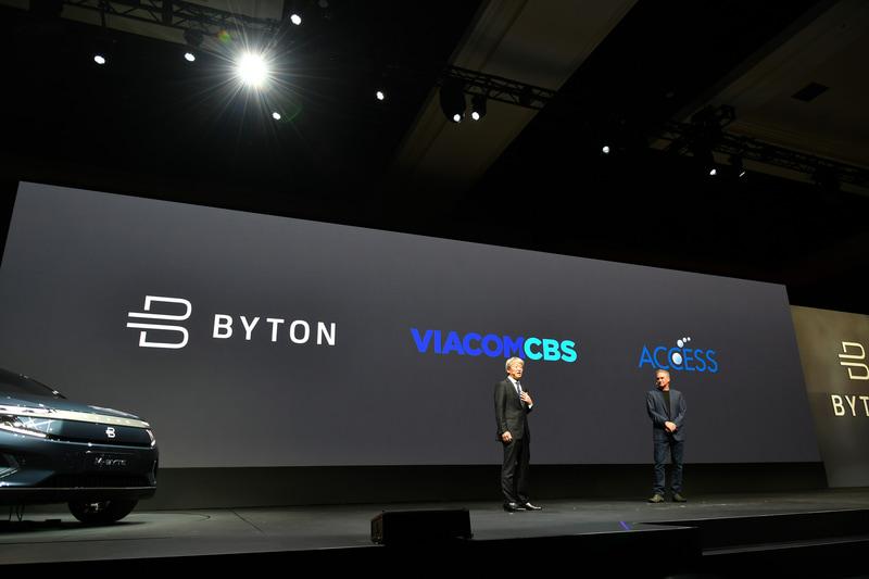 エンタテイメントコンテンツの提供メーカーとしてVIACOM CBSが、ブラウザメーカーとしてACCESSが紹介された
