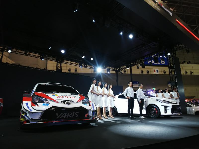東京オートサロン 2020の会場で新型「GRヤリス」を世界初公開