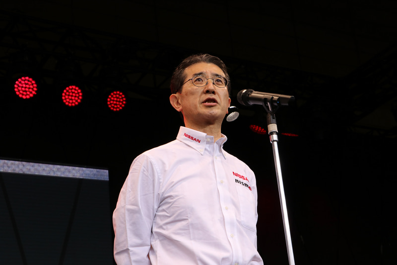 ニッサン・モータースポーツ・インターナショナル株式会社 代表取締役社長 最高経営責任者 片桐隆夫氏