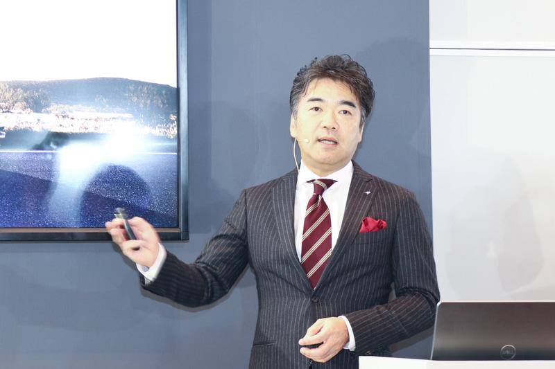 マクラーレン・オートモーティブ・アジア 日本支社代表の正本嘉宏氏