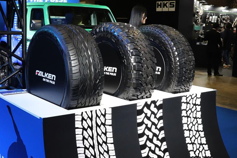 左から「ZIEX S/TZ05」、「WILDPEAK M/T01」、「WILDPEAK A/T3W」