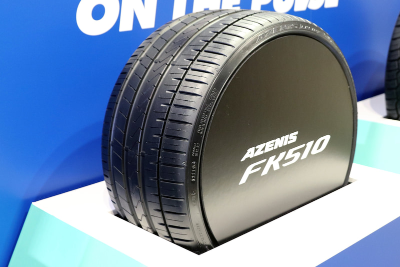 ファルケンのフラグシップタイヤとなる「AZENIS FK510」