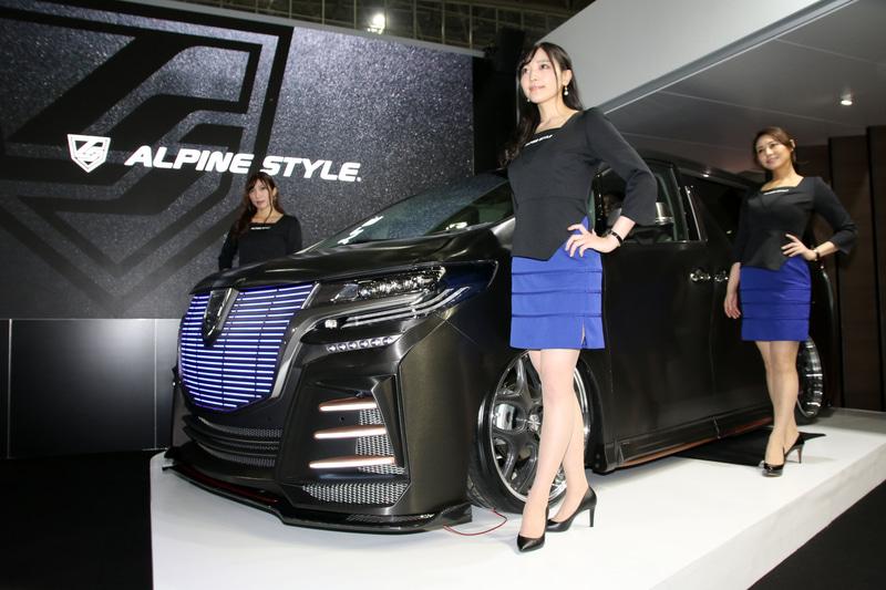 アルパインスタイルがコンセプトカーを発表