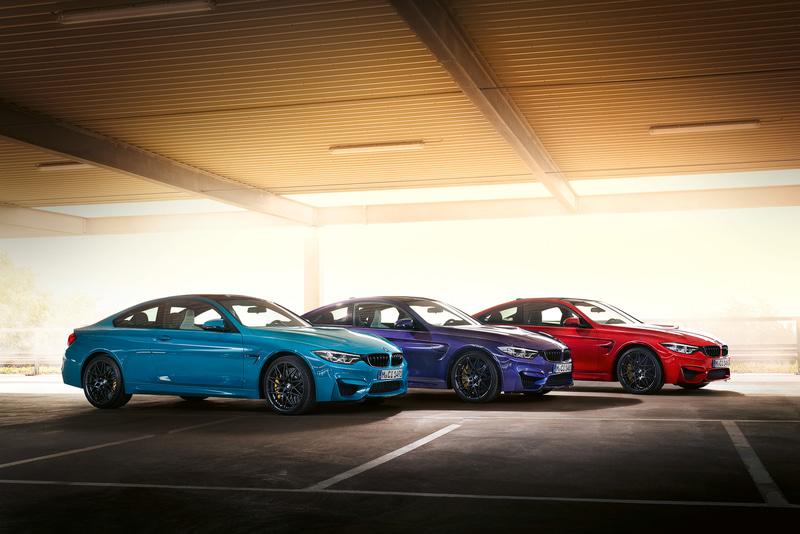 左から、「ラグナ・セカ・ブルー」「ベルベット・ブルー」「イモラ・レッド」