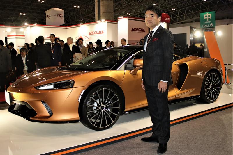 「マクラーレン GT」とマクラーレン・オートモーティブ・アジア 日本代表の正本嘉宏氏